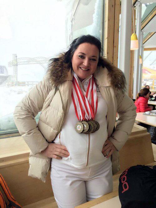 Нина Елисеева - директор и основатель горнолыжной школы Луч