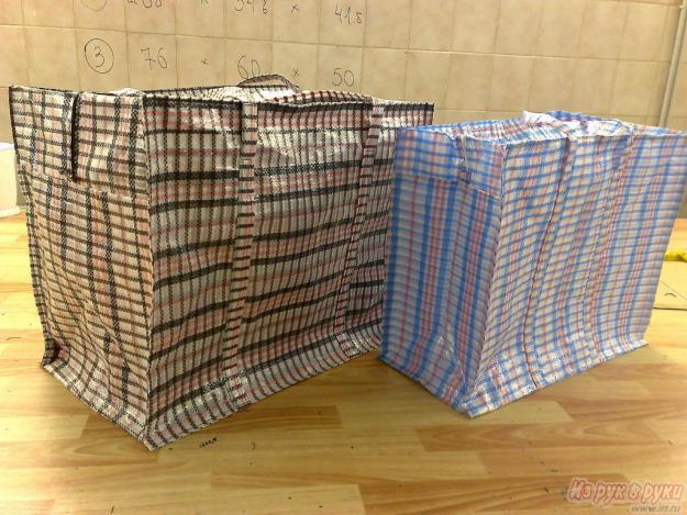 РОССИЯ.  Добавлено.  Хозяйственные сумки (баулы) из полипропилена всех размеров...