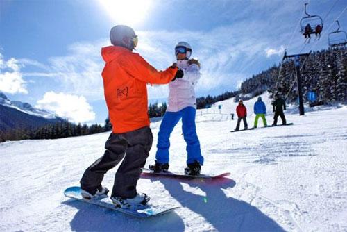 Горнолыжная школа Луч: набор детей в группы сноубординга