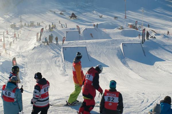Клуб Igora Snow Club для любителей экстрима