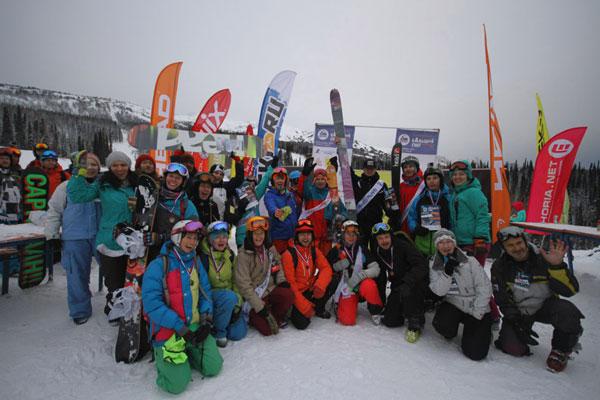 Фестиваль БАльшой снег. Неспортивные игры