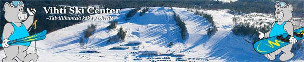 Vihti ski center соревнования по слалому