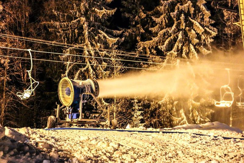 Горнолыжный курорт Красное Озеро открывает зимний сезон 2017-2018