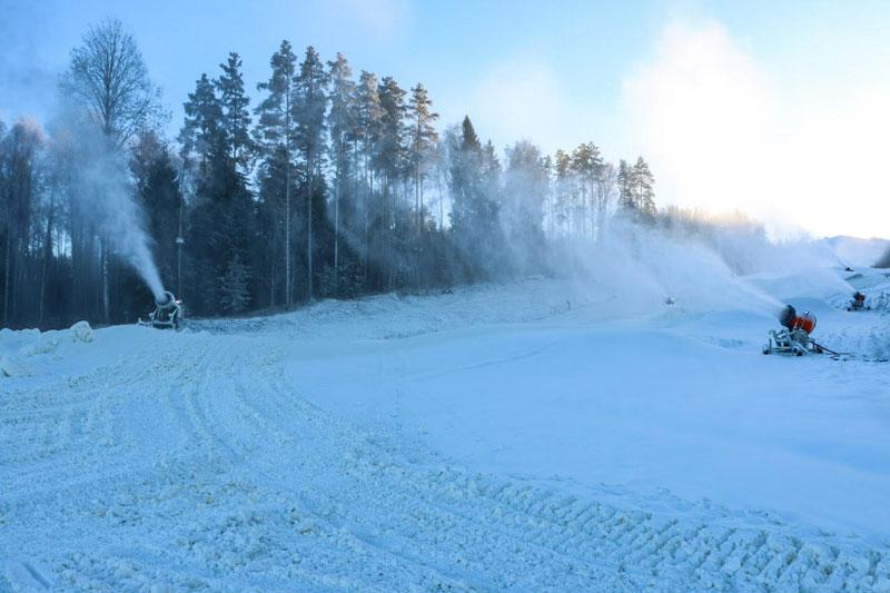 расное Озеро открывает зимний сезон