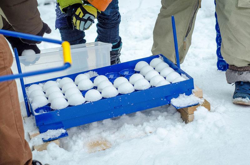 В Заполярье в разгаре снежные баталии