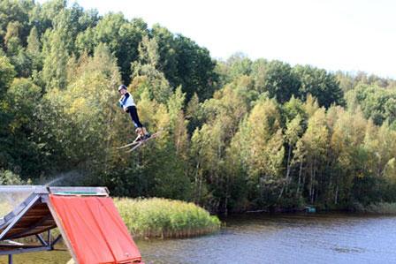 Летняя проверка сил горнолыжников и сноубордистов