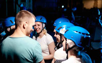 Вечеринка горнолыжников и сноубордистов в высотном городе 01.12.17