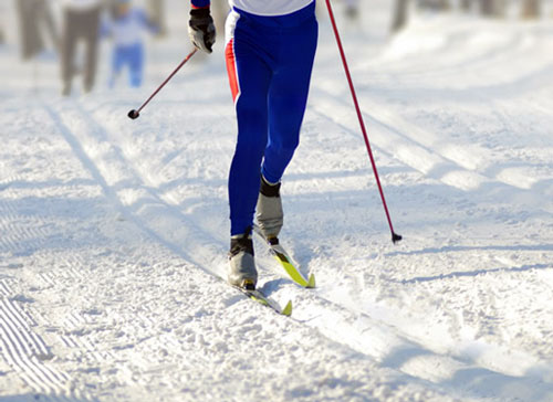 На курорте Красное Озеро открыта трасса для беговых лыж