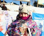 Маша Стайнова - чемпионка 3 тура