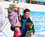 Маша Стайнова со своим тренером Канаевым Дмитрием Тамазовичем
