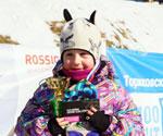 Стайнова Маша - абсолютная чемпионка соревнований сезона 2012-2013г.