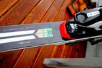 Лыжи с чипом накопителем ввибрации