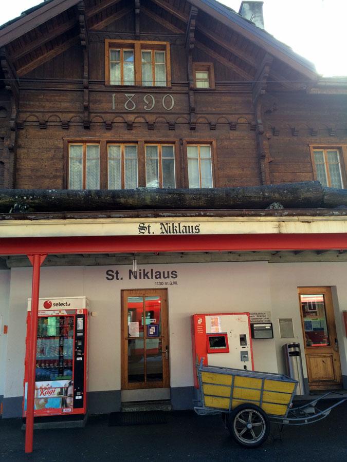 Грэхен Graechen - горнолыжный курорт. Вале