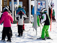 Курорт Химос - система доступа по ски-пассам - стало