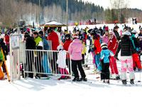 Курорт Химос - система доступа по ски-пассам - было