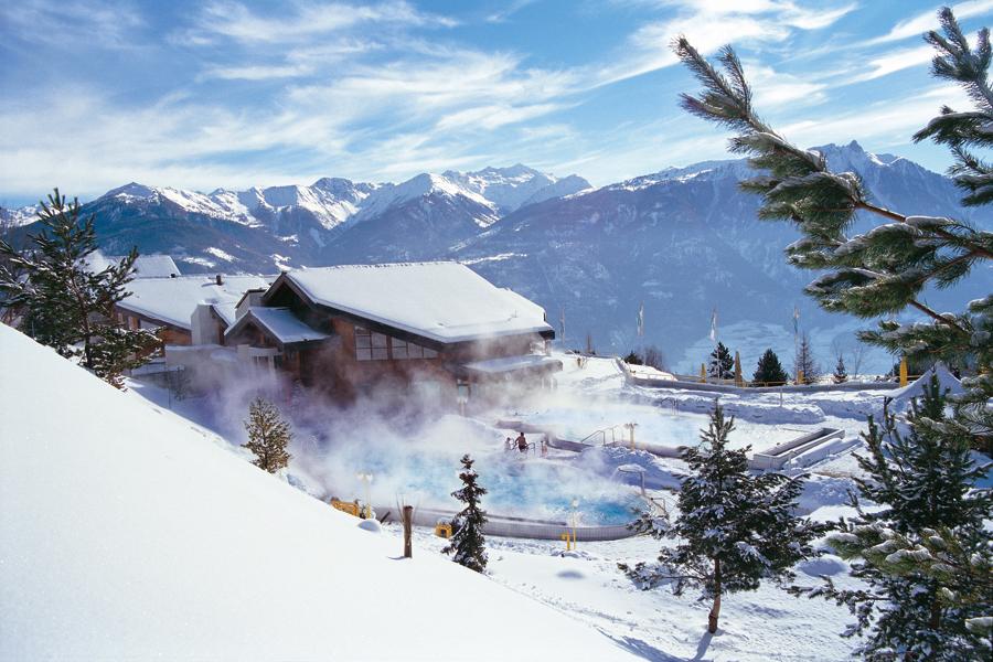 Курорт Овронна Ovronnaz Швейцария