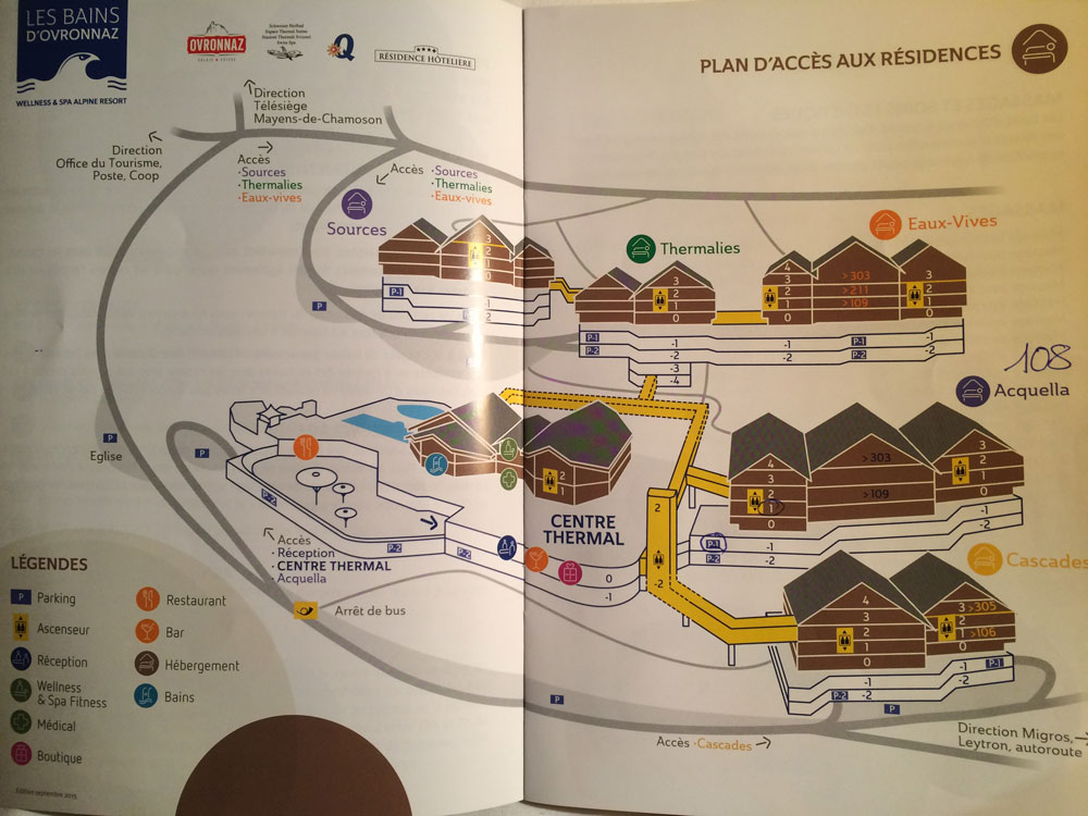 Курорт Овронна Гостиничный комплекс Bains d'Ovronnaz superior Hotel Thermalp